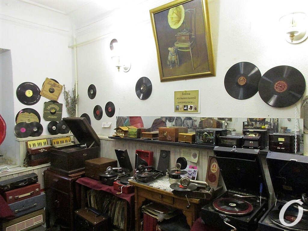музей звука в Одессе, экспонаты