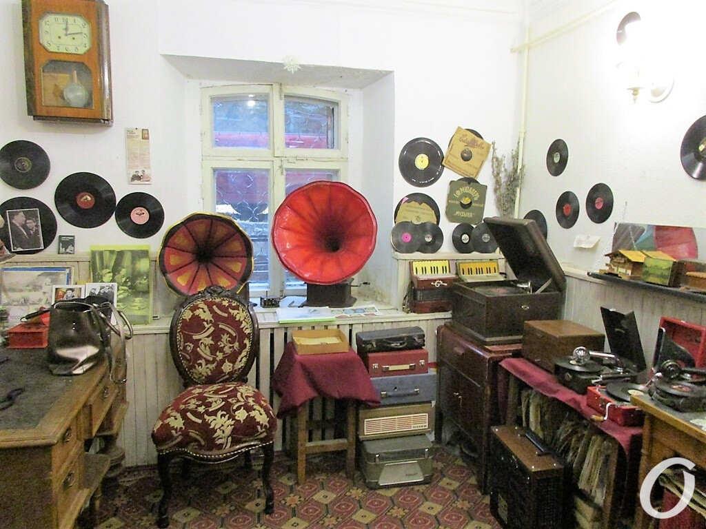 музей звука, граммофоны