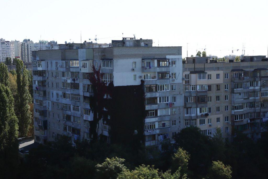 солнечные батареи Одесса высотки