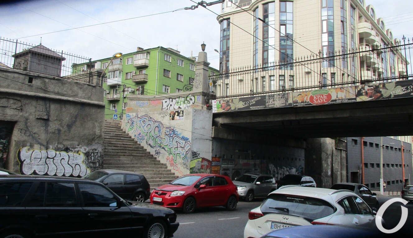 Польский спуск, лестница