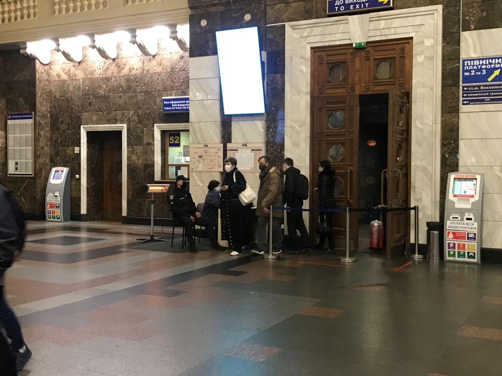 киевский вокзал карантин