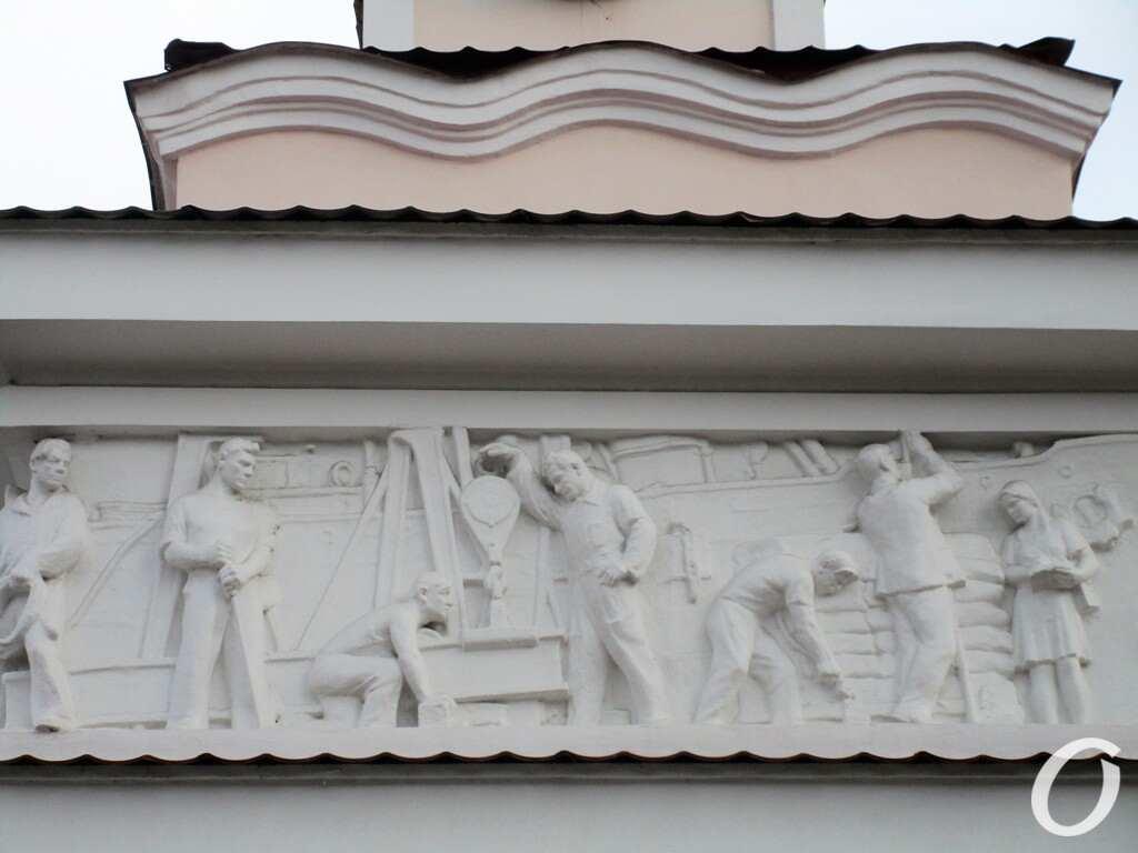 Одесский порт, въезд