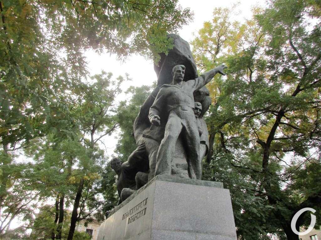 памятник Потемкинцам в Одессе
