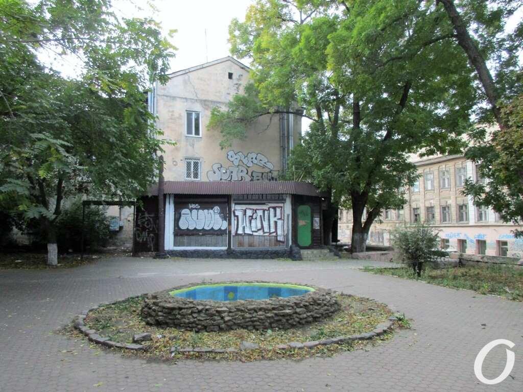 сквер на Таможенной площади