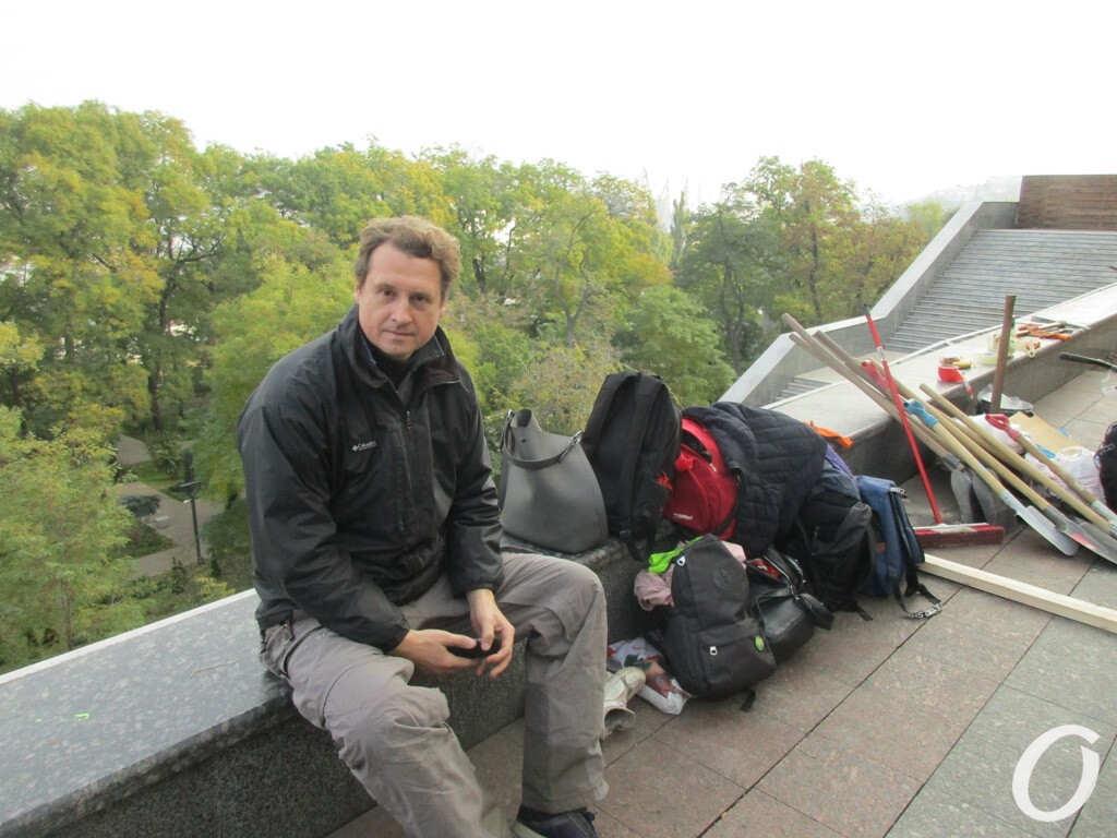 завкафедрой истории Украины Андрей Красножон