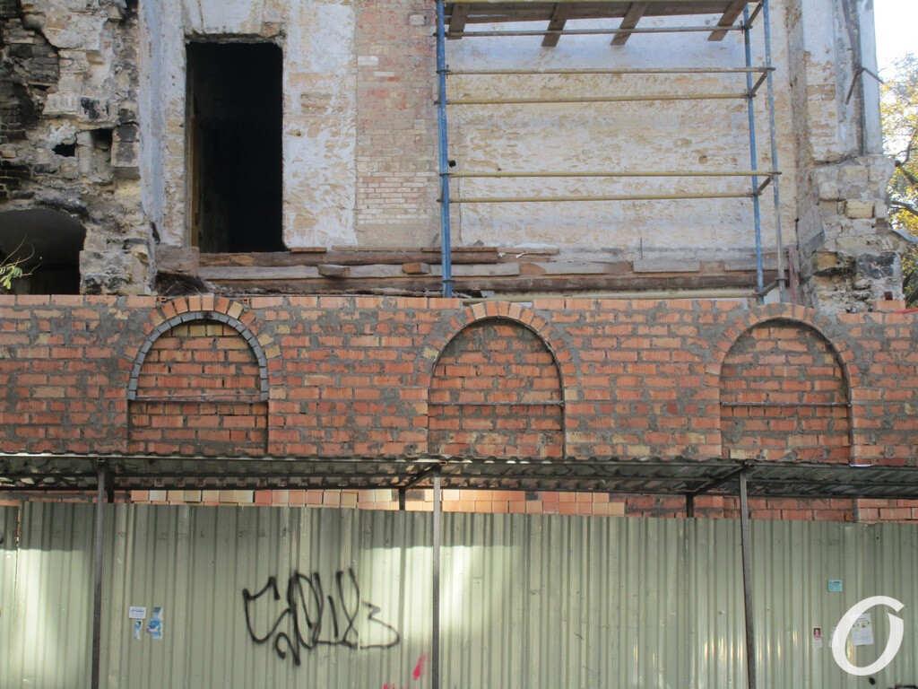 дом на Канатной восстанавливают
