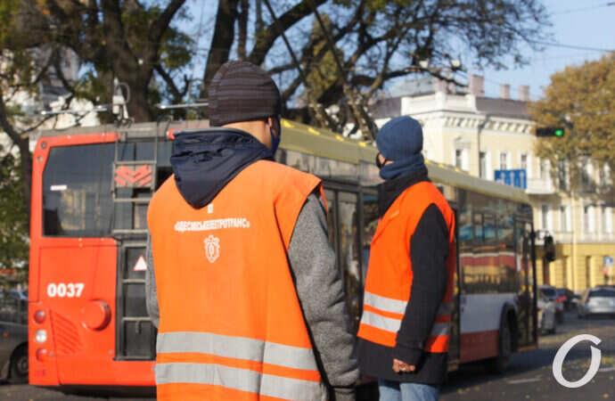 Транспортный карантин в Одессе: как трудятся «посадочные команды»? (фото)