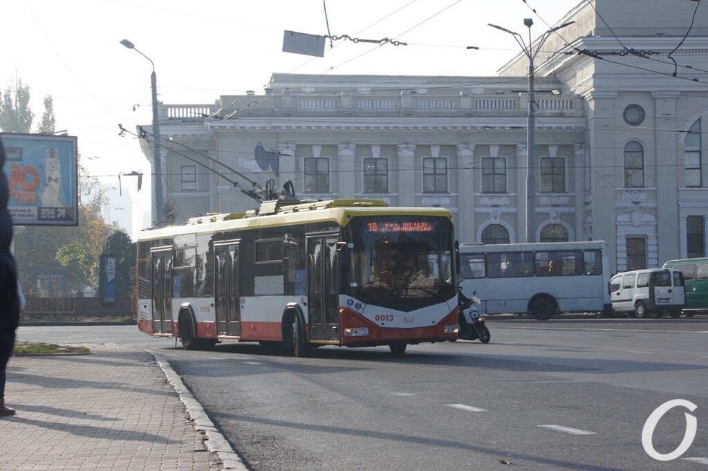 Привокзальная площадь в Одессе