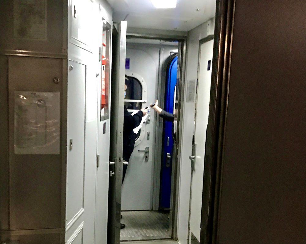 контроль в поезде Львов-Одесса