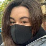 уличный опрос о ношении масок