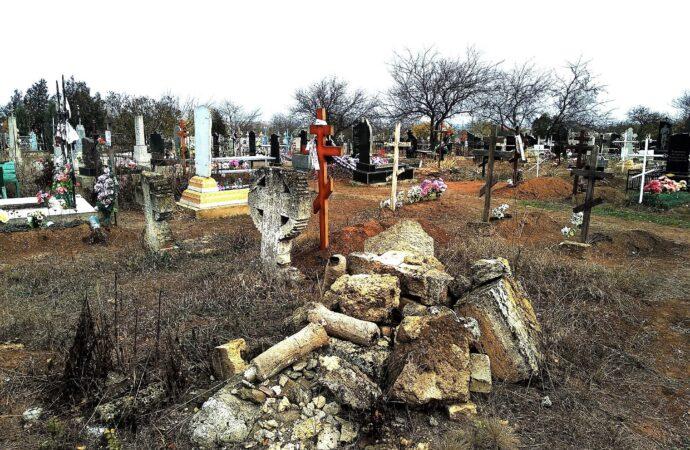 центральное кладбище в Нерубайском