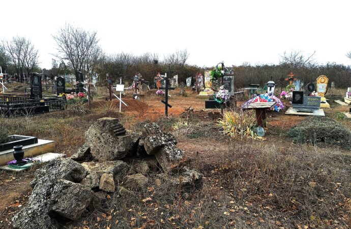 кладбище в Нерубайском