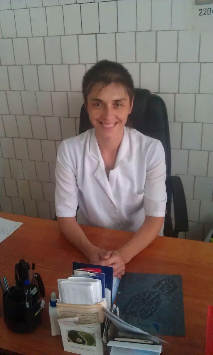 Терапевт высшей категории днепровской горбольницы №9 Снежана Ляшук