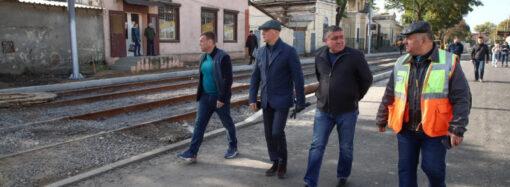Труханов: мы продолжаем масштабный капремонт Новощепного ряда