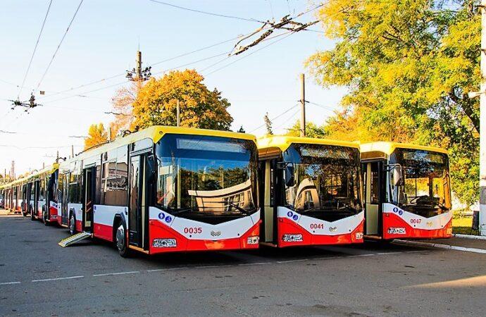 Одесский троллейбус отмечает свой 75-летний юбилей (фото)
