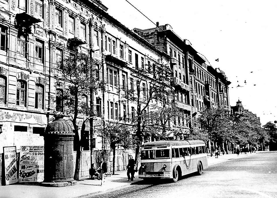 старая Одесса, троллейбус
