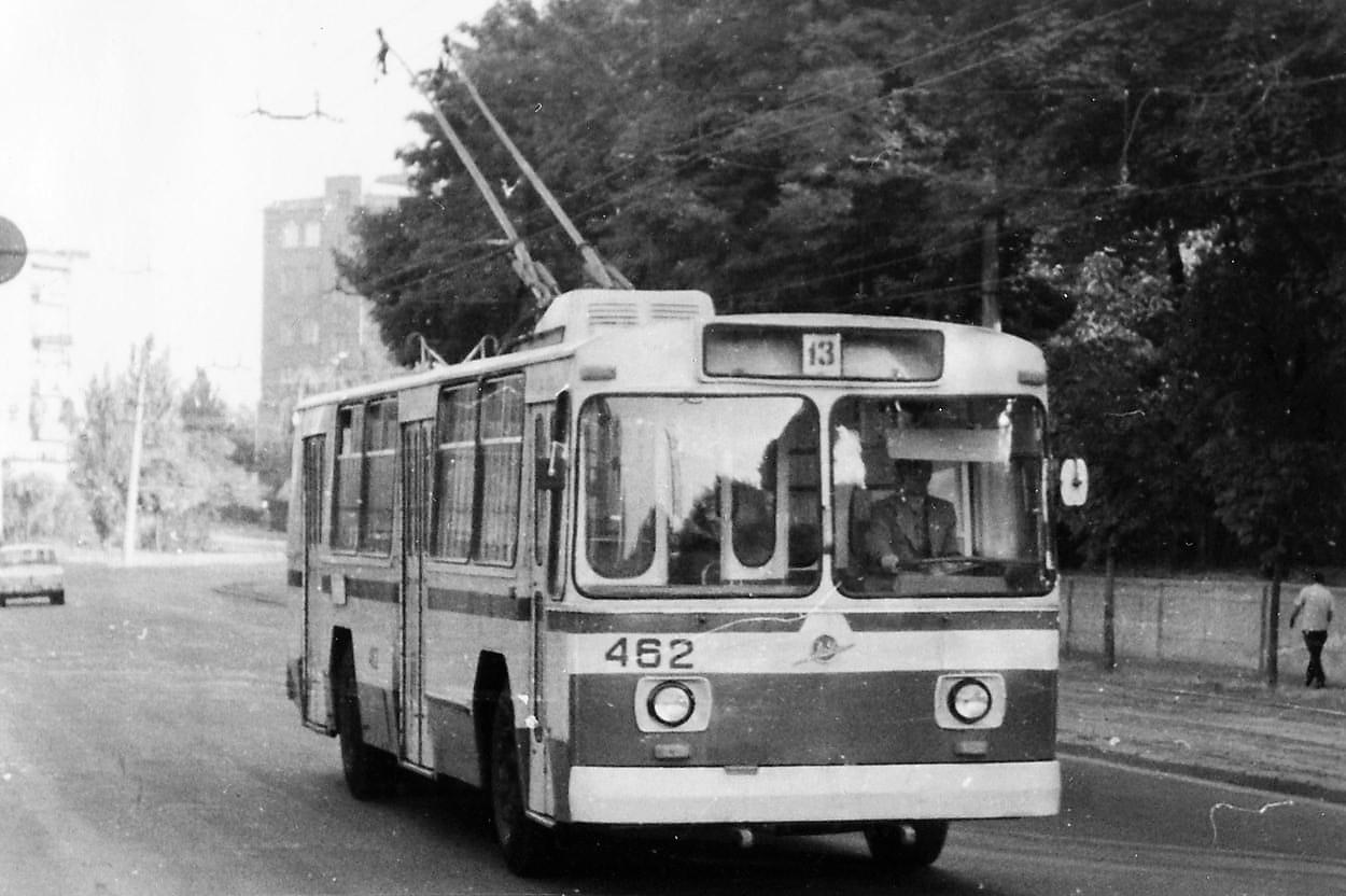 старый одесский троллейбус