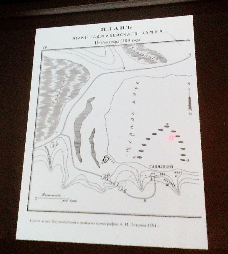 план хаджибейского замка