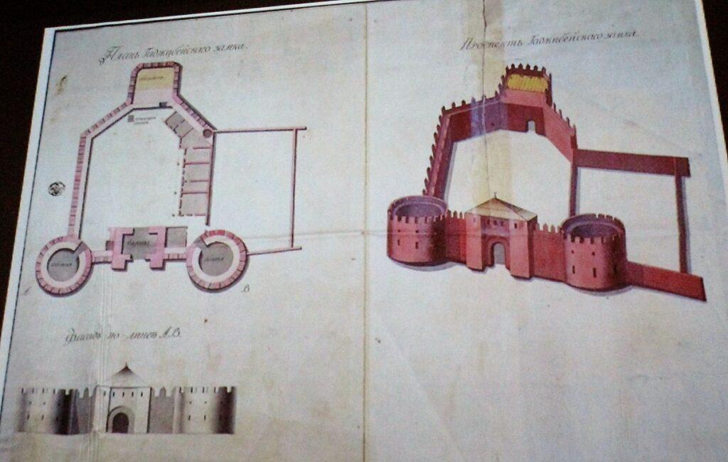 хаджибейский замок план