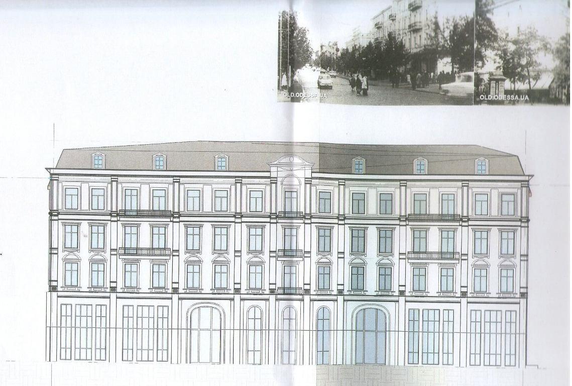Проект нового ТЦ в Одессе
