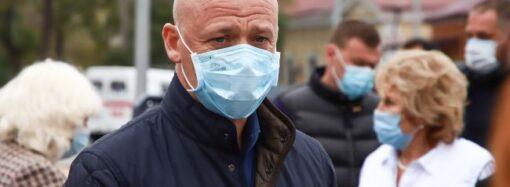 """""""Красная"""" зона в Одессе: Труханов пригрозил отключать воду и свет работающим заведениям"""