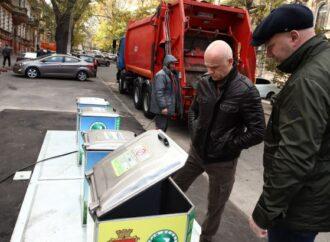 Труханов: в Одессе продолжается проект по установке подземных контейнеров для сбора ТБО