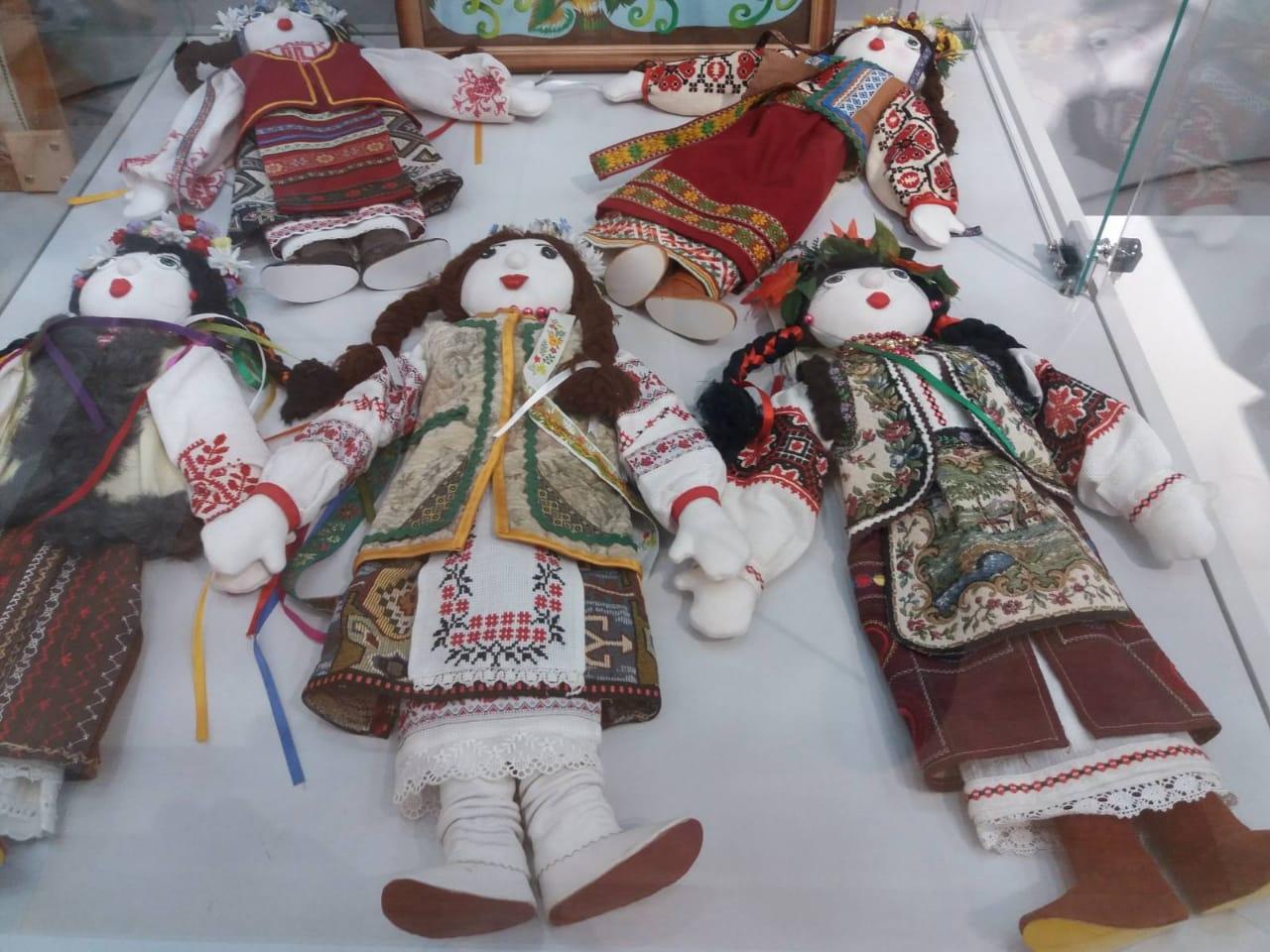 народные куклы, одесский музей