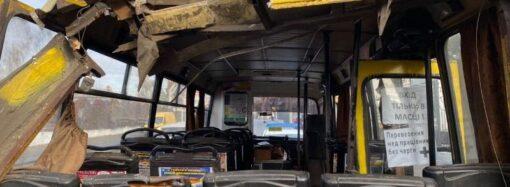 В Одессе автокран разбил головы двум пассажирам маршрутки: открыто уголовное производство