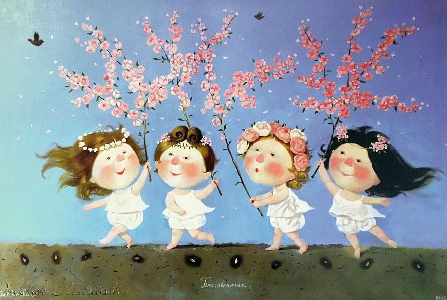 Картины художница Гапчинская