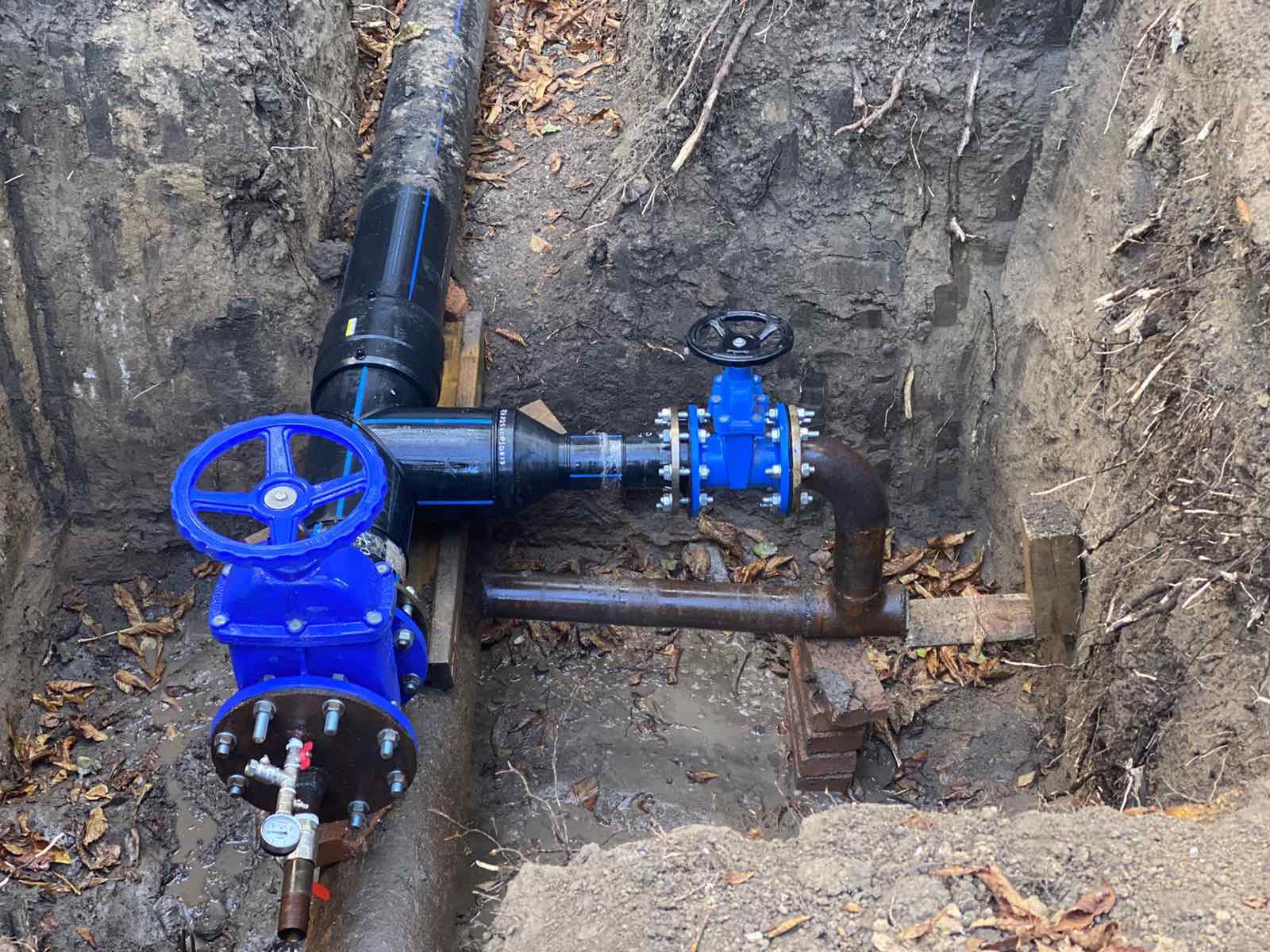 Инфоксводоканал - замена водопровода
