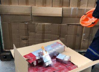 Контрабанда сигарет: в Одесском морпорту провели международную спецоперацию