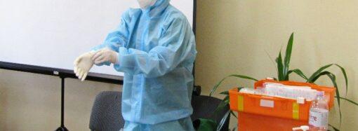 В Одессе готовят дополнительный медперсонал для лечения коронавирусных больных