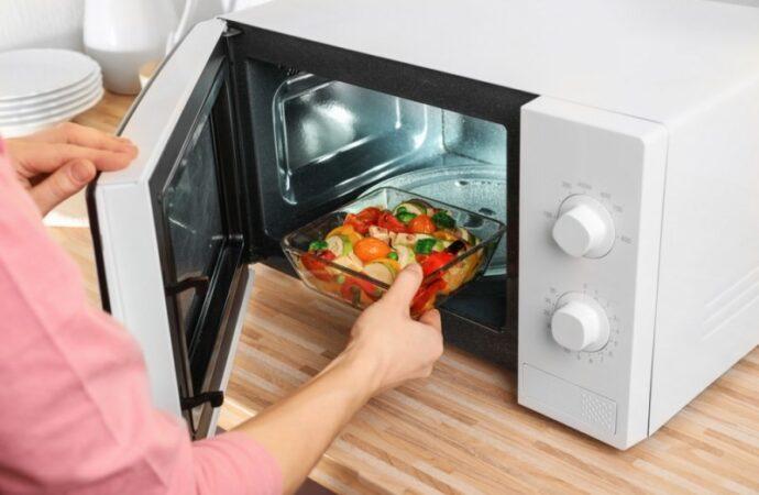Эксплуатация микроволновки: как подобрать тарелку и можно ли заменить слюду?