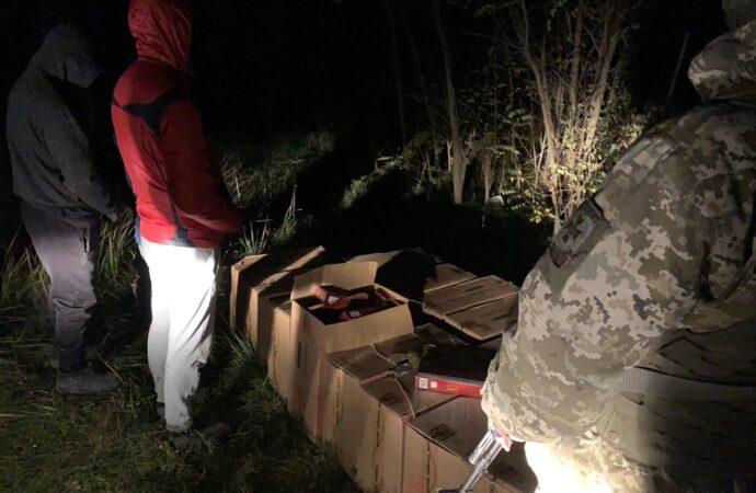 В Одесской области контрабандисты с сигаретами бросились наутек от пограничников (фото)