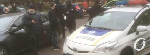 Одесские полицейские начали расследование «хулиганства» на Академической (видео)