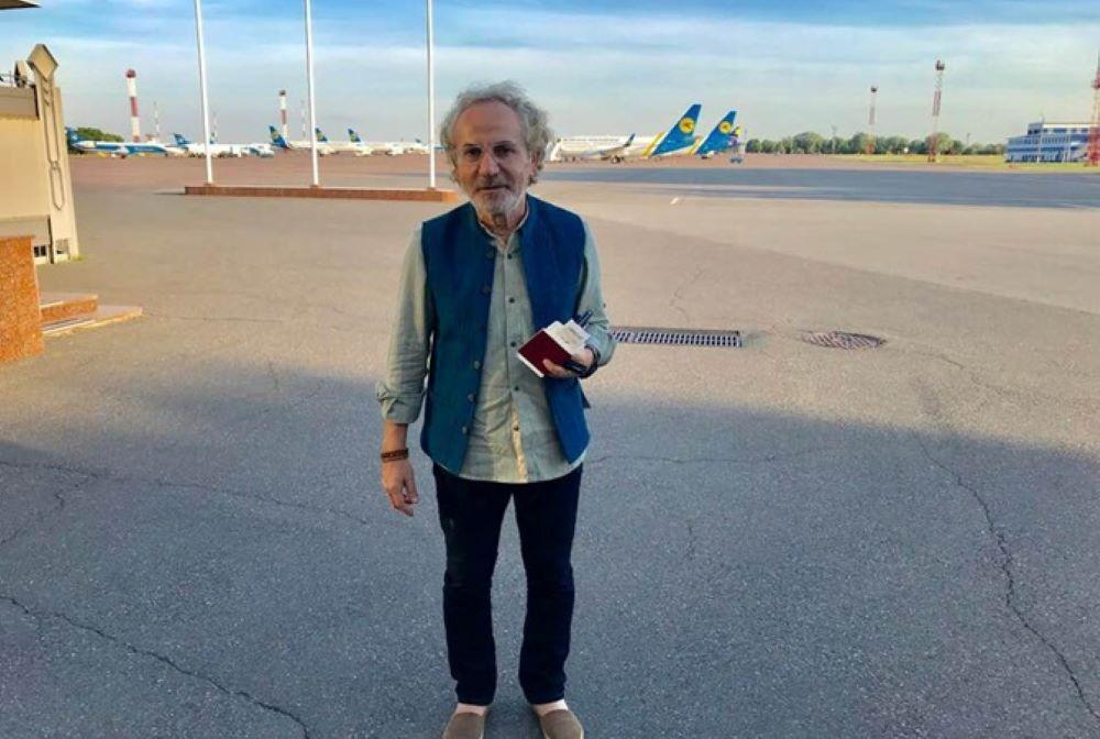 Савик Шустер вернулся в Украину