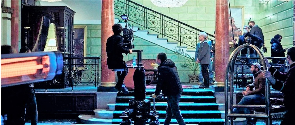 снимают кино в Одессе