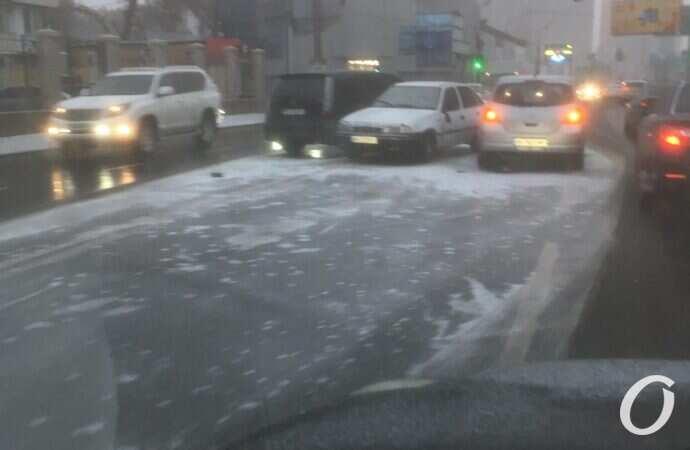 Главные новости Одессы 7 декабря: скользкие улицы и светящиеся катакомбы