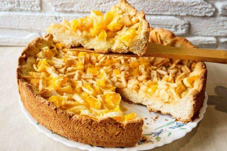 пирог сапельсинами