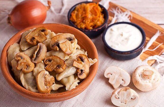 """Вкусно с """"Одесской жизнью"""": постные пельмени с грибами"""