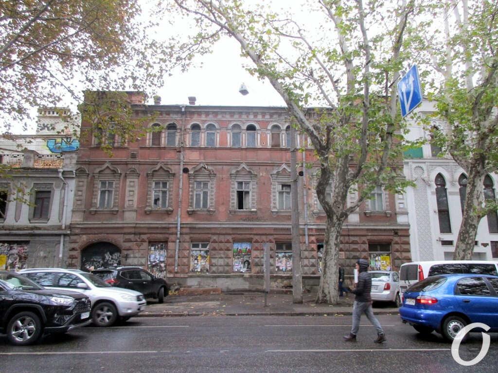 здание бывшей типографии Фесенко в Одессе
