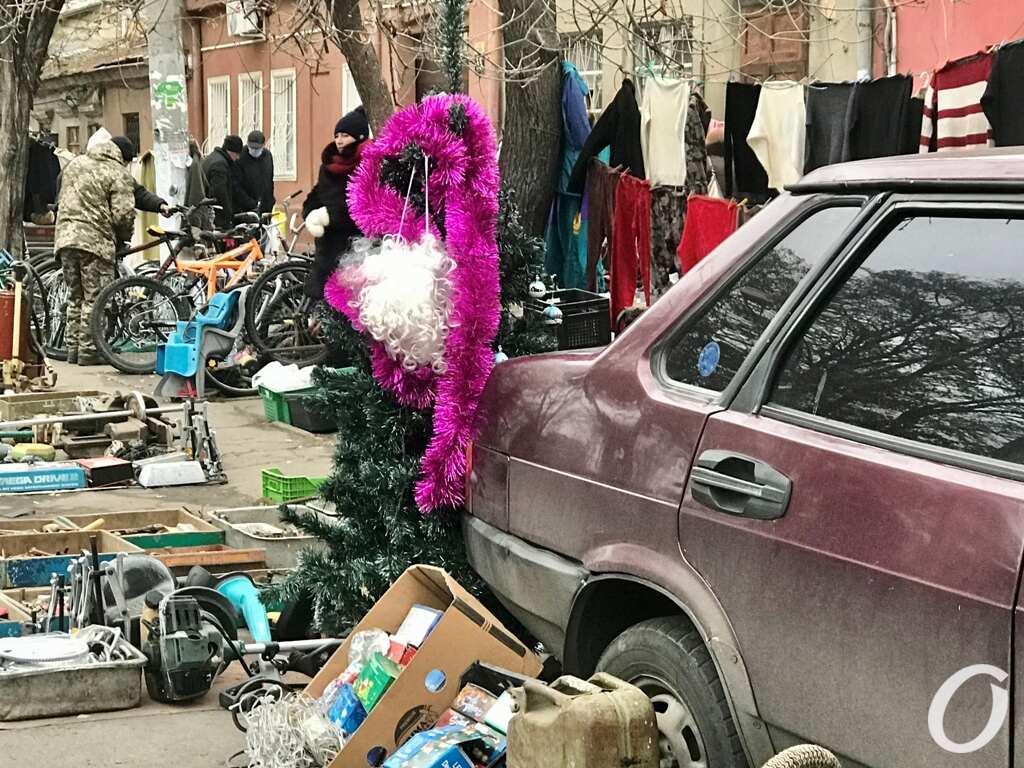 Староконка в Одессе накануне Нового года