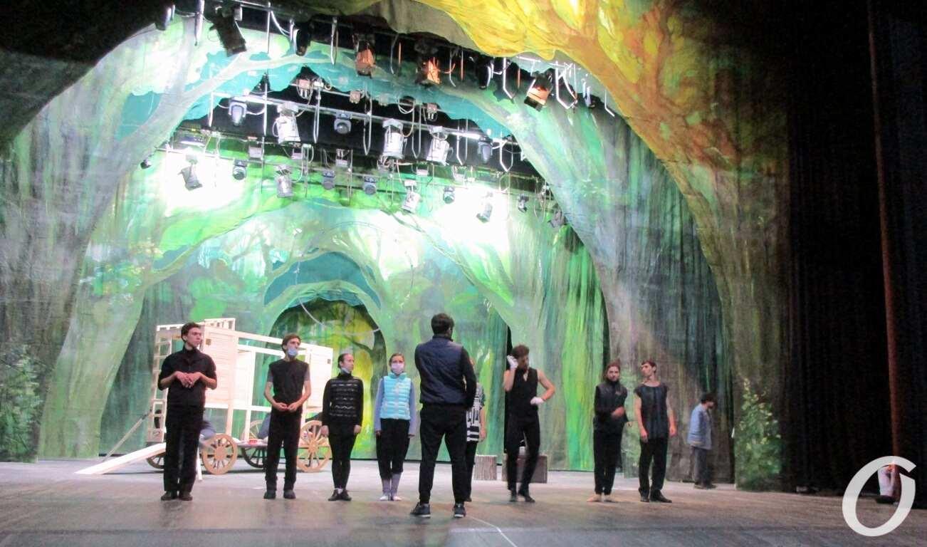 театр, репетиция