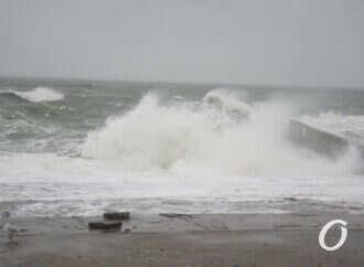 Погода усложнила работу портов в Одесской области