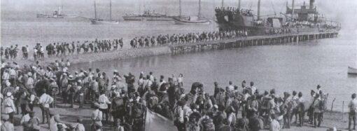 Как Белая армия покидала юг Украины сто лет назад