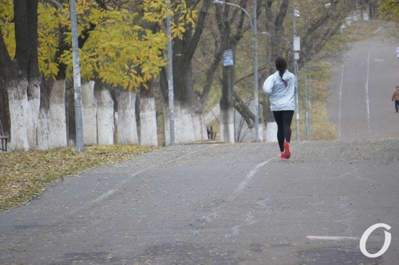 бег по трассе
