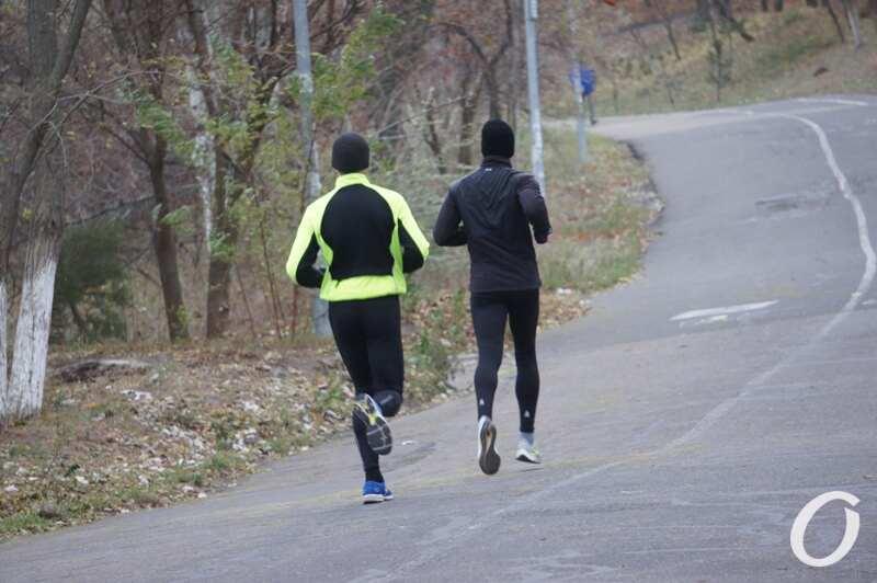 пробежка по Трассе здоровья
