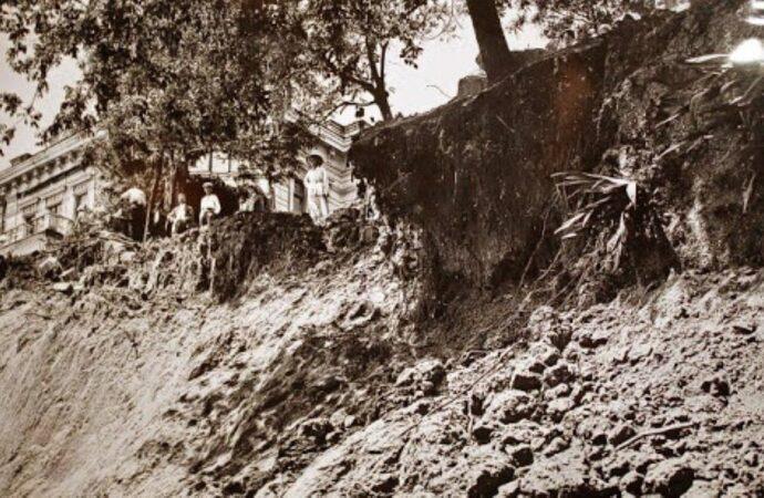 Из истории оползней одесского побережья
