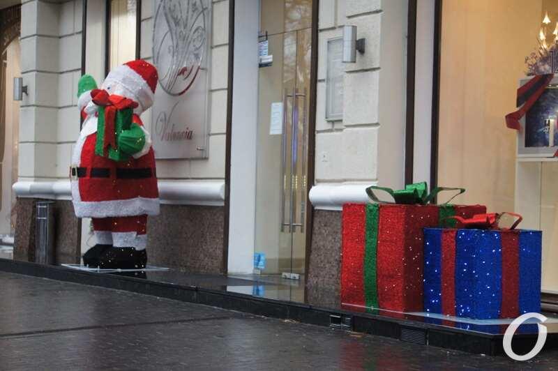 Новогодняя витрина, Санта Клаус