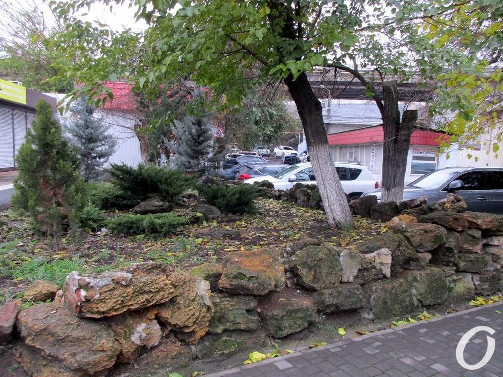 улица Одария, дворик